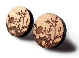 Tasmanian 'the vintage' wooden jewelry - Google Search