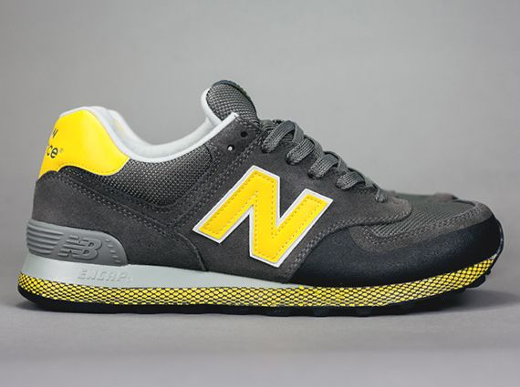 info for 95103 fec20 new balance 574 grey and yellow