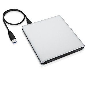 [Lecteur Blu-ray 3D, Graveur/Lecteur CD/DVD]VicTsing Graveur/Lecteur Externe USB 3.0 DVD/CD Drive Combo Lecteur Blu-ray 3D BD Disc avec…