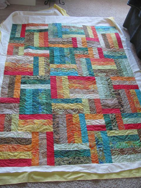 116 best Jelly Roll Quilts, Strip Quilts, String Quilts images on ... : popsicle sticks quilt pattern - Adamdwight.com