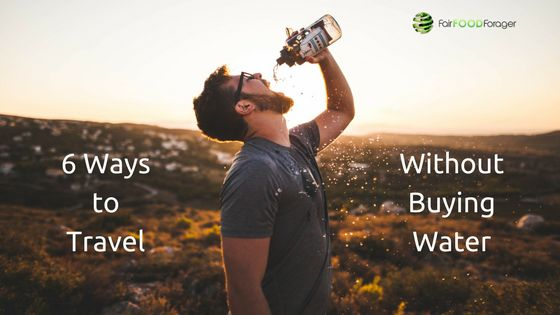 That's right! ...350...MILLION! ... A DAY! Here are some simple ways to save on plastic water bottles while traveling.