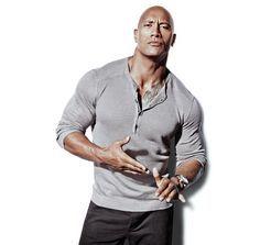 The 100 Fittest Men Of All Time. 46. Dwayne Johnson -Men's Health