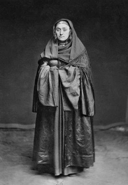 Дагестан, Казикумух, 1883 Лакцы. Жена хана.
