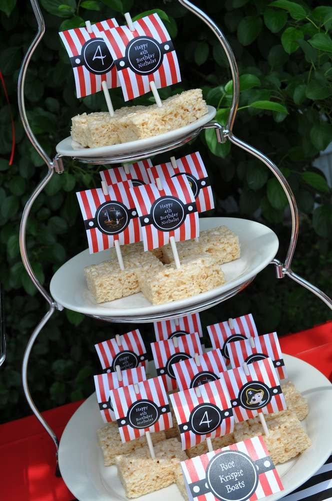 Pirate Birthday Party | CatchMyParty.com