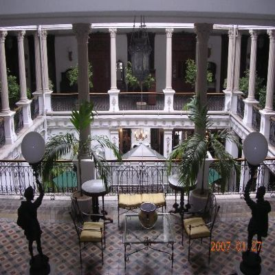 Gran Hotel Merida Mexico -stayed here with my mom, dad and brother for Christmas 1992.