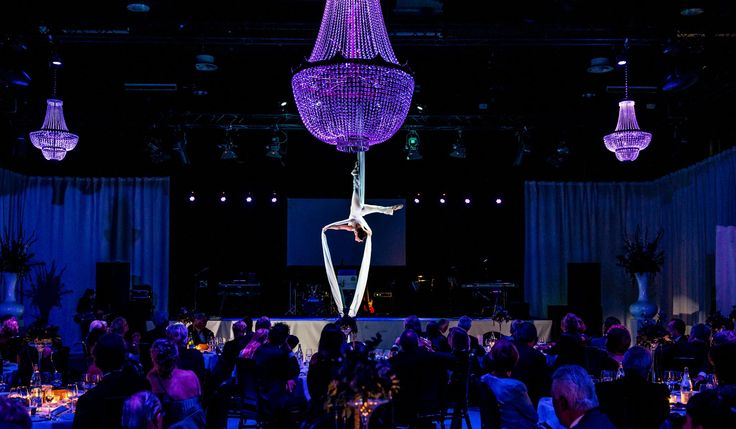 In Duynisveld our chandeliers took this preformance to the next level. #chandelier #rental # private #event