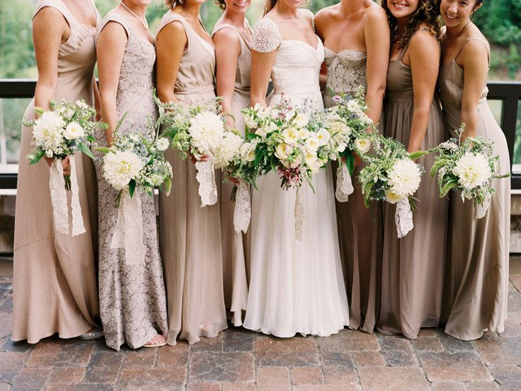 1000 Ideas About Beige Bridesmaid Dresses On Pinterest: Best 20+ Mix Match Bridesmaids Ideas On Pinterest