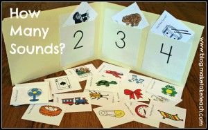 Great phonemic awareness activity to use during small group instruction.