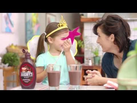 HERSHEY'S Syrup is Princess Magic - YouTube