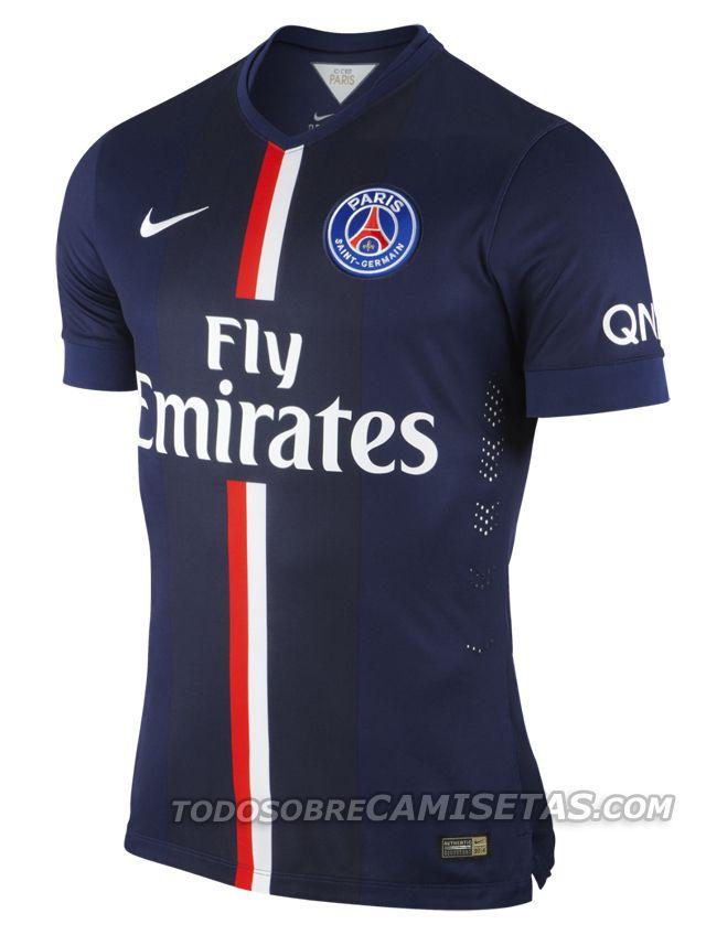 Todo Sobre Camisetas: OFICIAL: PSG Nike Maillot Domicile 2014/2015