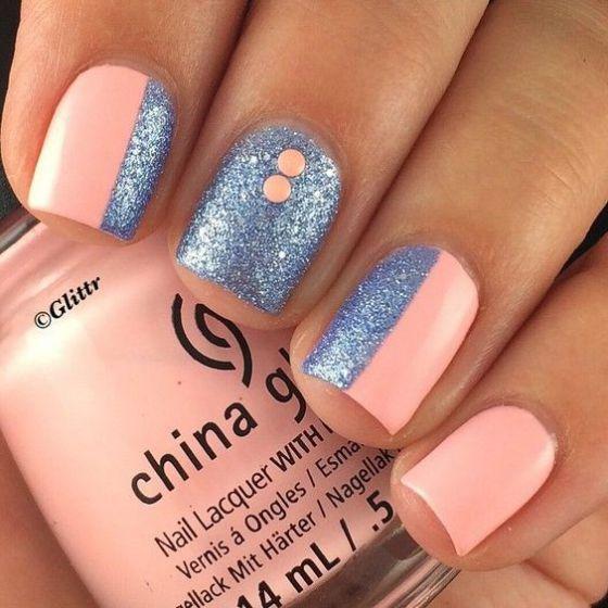 Más de 50 imágenes de uñas largas decoradas ❤❤❤ con diferentes colores, muchos diseños de uñas y accesorios para que veas lo versátiles que pueden ser.