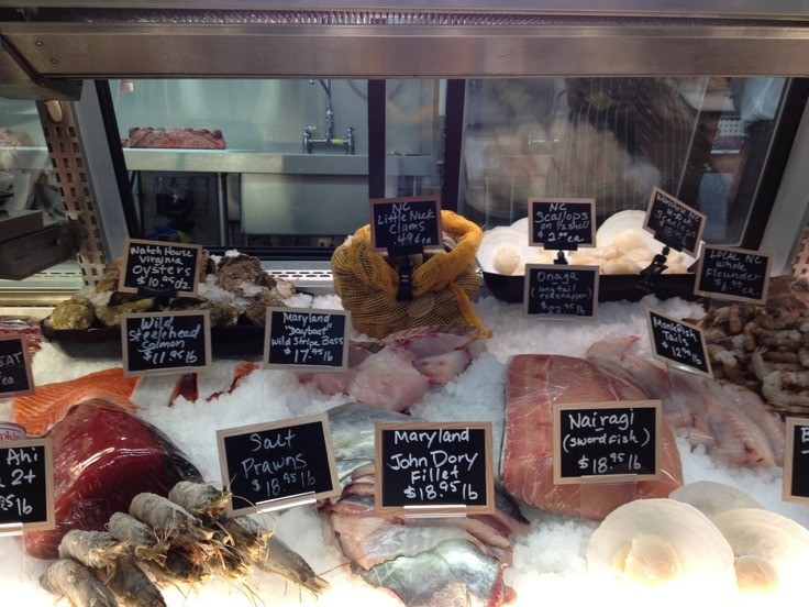 23 best images about seafood retail on pinterest for Daily fresh fish