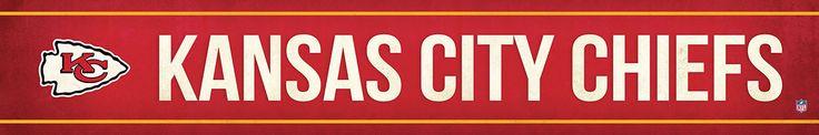 Kansas City Chiefs Street Banner $19.99