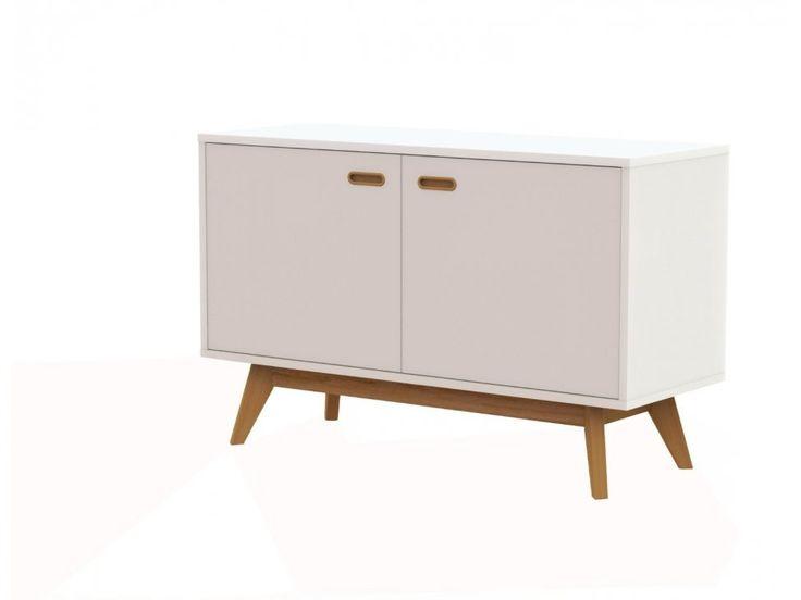 Komoda Bess I biała — Komody Tenzo — sfmeble.pl  #scandinavian  #style  #interior  #homedesign #furniture #white