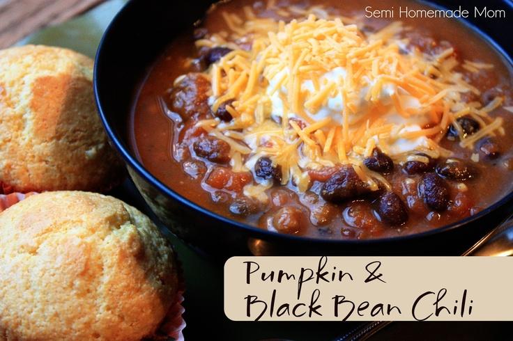 tahitian pearls Semi Homemade Mom Pumpkin amp Black Bean Chili  Liquid Dinner