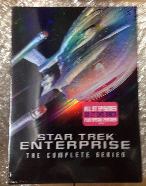 Star Trek: Enterprise - The Complete Series (DVD, 2017, 27-Disc Set)