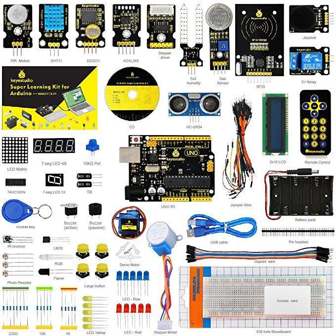 Keyestudio Super Learning Kit With Tutorial For Arduino