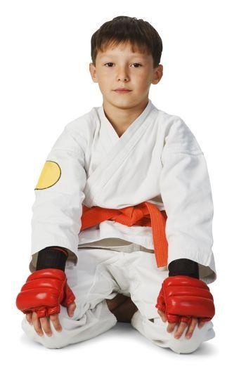 La práctica del Taekwondo para niños en casa...