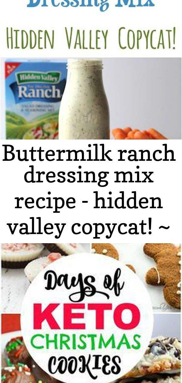 Buttermilk Ranch Dressing Mix Recipe Hidden Valley Copycat At Thefrugalg Buttermilk Ranch Dressing Mix Recipe Ranch Dressing Buttermilk Ranch Dressing Mix