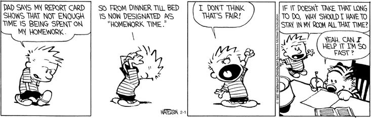 Calvin and Hobbes by Bill Watterson for Feb 1, 2017 | Read Comic Strips at GoComics.com