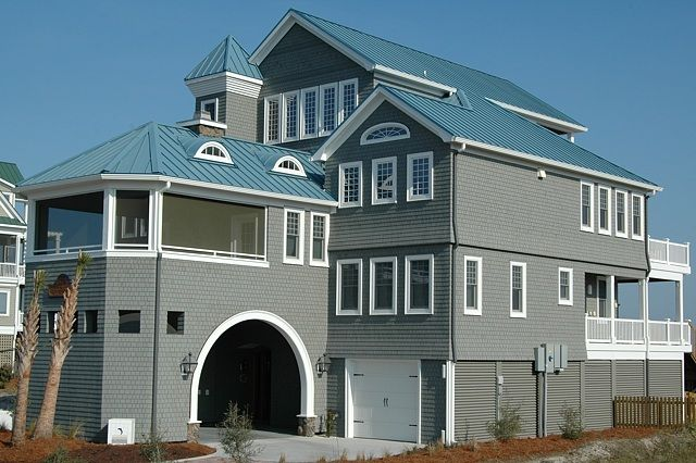 This is my favorite house on the island. Headed there in October.    Idyll-by-the-Sea Two in North Topsail Beach, NC    • 8 bedrooms includes top floor master spa suite    • 7 baths    • private oceanfront pool    • almost 6000 square feet    • over 5100 square feet of porches & decks & patio