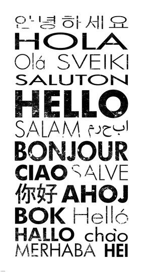 Hello in different Languages #hello #languages #communication