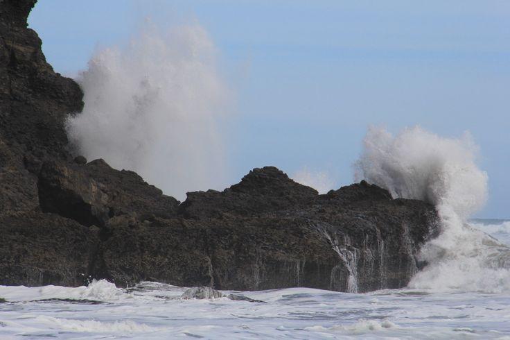 The power in the Tasman Sea waves