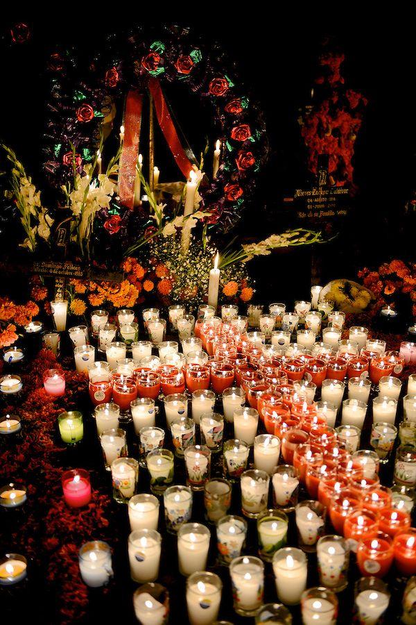 Día de Muertos, Patzcuaro región, Michoacán, México