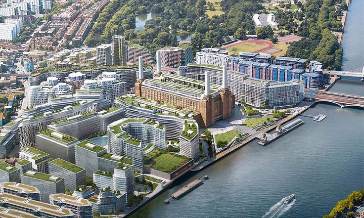 Новая лондонская штаб-квартира Apple в электростанции с обложки альбома Pink Floyd