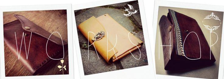 Leather handmade purse - 1 day kaula workshop