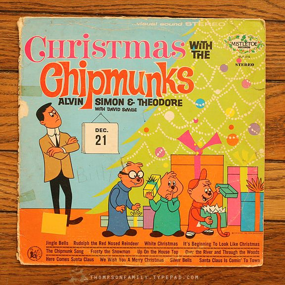 Chipmunks Christmas...My brother & I would play this every Christmas eve ... right begore bedtime :)