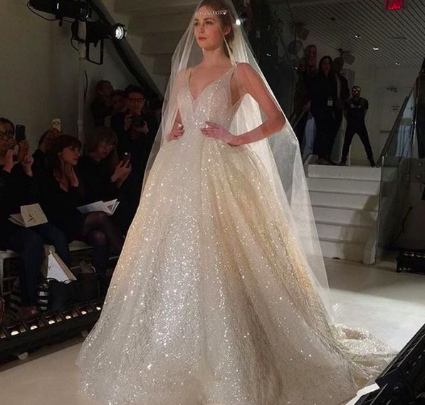 The Most Memorable Dresses From Bridal Fashion Week 2017