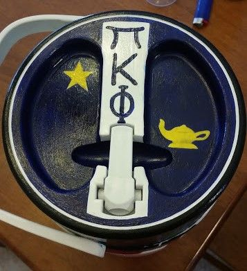 Pi Kappa Phi buba keg (fraternity gift idea)