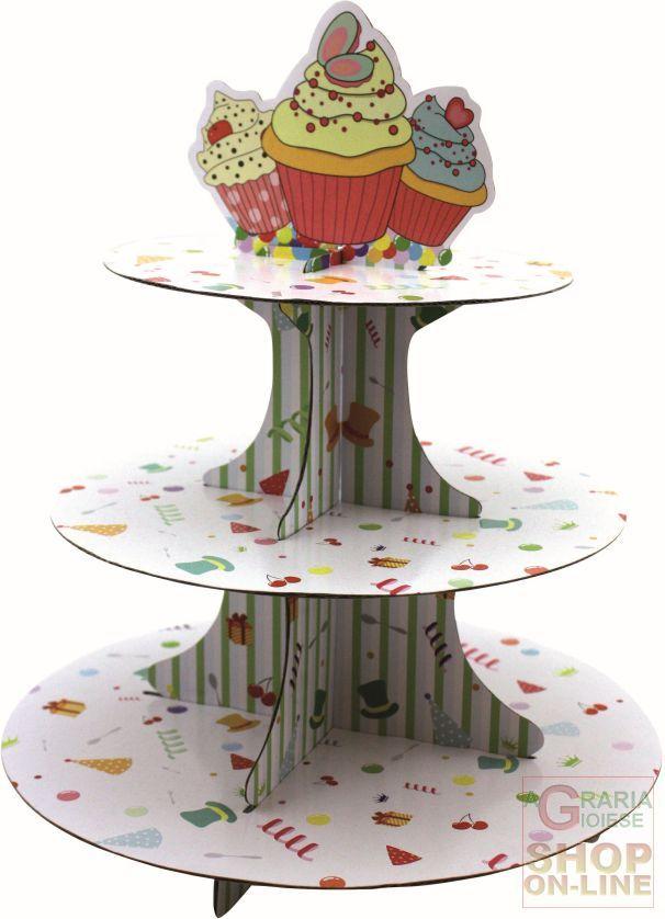 FACKELMANN ALZATA A 3 LIVELLI IN CARTONE PER CUP CAKE MUFFIN DIAM. 30 CM. ART. 43532 https://www.chiaradecaria.it/it/fackelmann/5687-fackelmann-alzata-a-3-livelli-in-cartone-per-cup-cake-muffin-diam-30-cm-art-43532-4008033435321.html