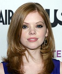 Dreama Walker Hairstyle - Formal Long Straight