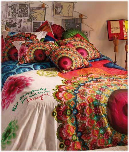 34 best images about desigual bedding on pinterest - Desigual home decor ...