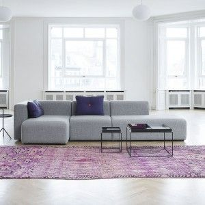 MAGS MODULE SOFA (dobbelt chaiselong) fra Hay. 22500,- hos Casanova møbler