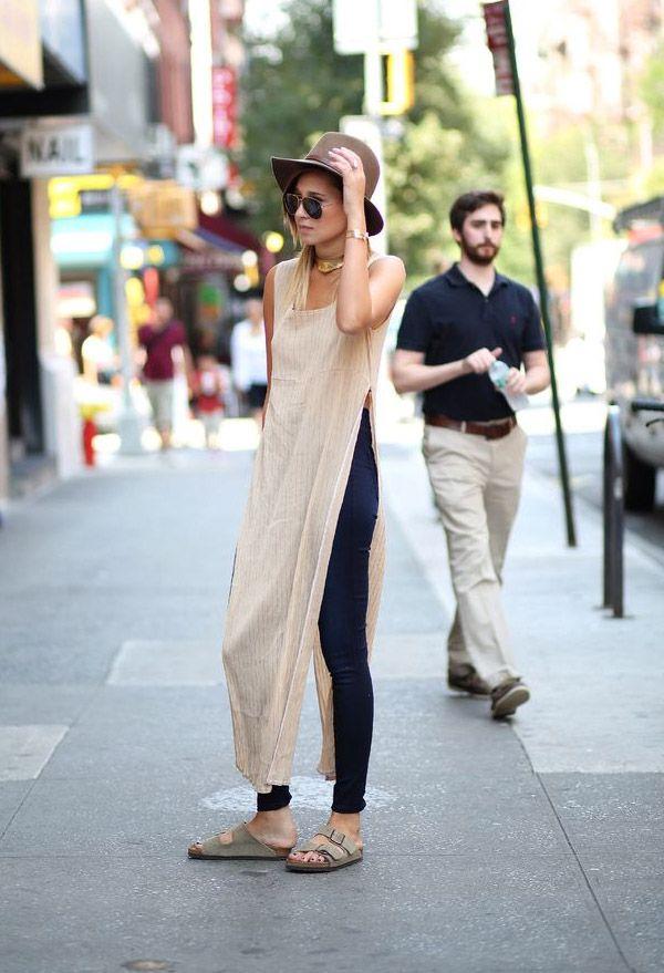 danielle-bernstein-street-style-maxi-t-shirt-basic: