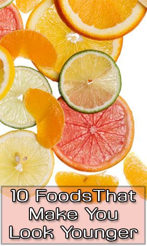 10 Foods That Make You Look Younger http://fitering.com/foods-to-look-younger/