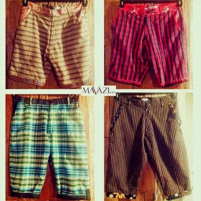 Mavazi resort pants for men - traditional home made weaving fabrics ( Lurik, Dobi & Wakatobi )