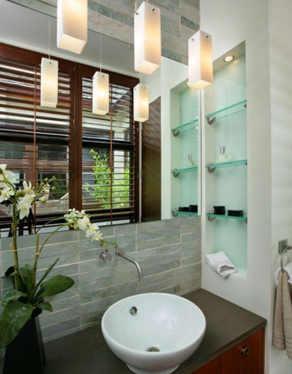 Modern Bathroom Shelving