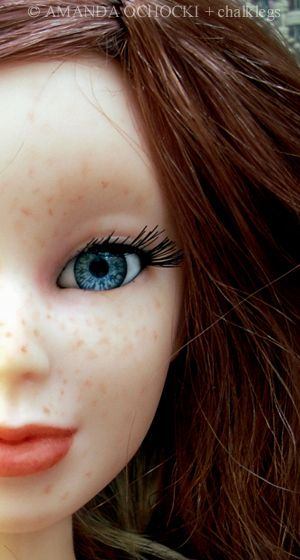How to Repaint a Doll Face |