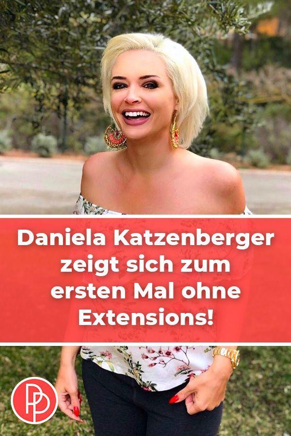 6ee32922a30bd Daniela Katzenberger ohne Extensions: SO sieht sie mit kurzen Haaren ...