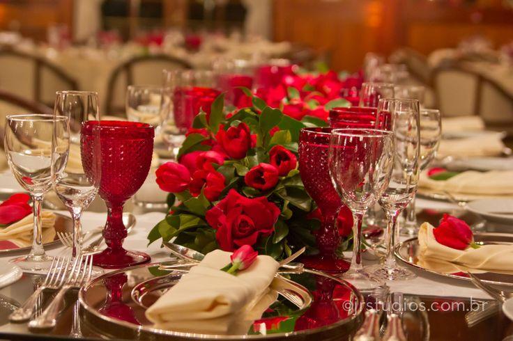 Bodas rubi 40 anos de casados maria lucia e luiz for Decoracion 40 aniversario de bodas