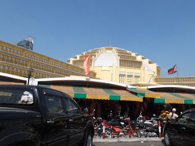 Central Market A Tour Around PP Sights http://jouljet.blogspot.com/2013/01/a-tour-around-pp-sights.html #Cambodia #PhnomPenh #travel
