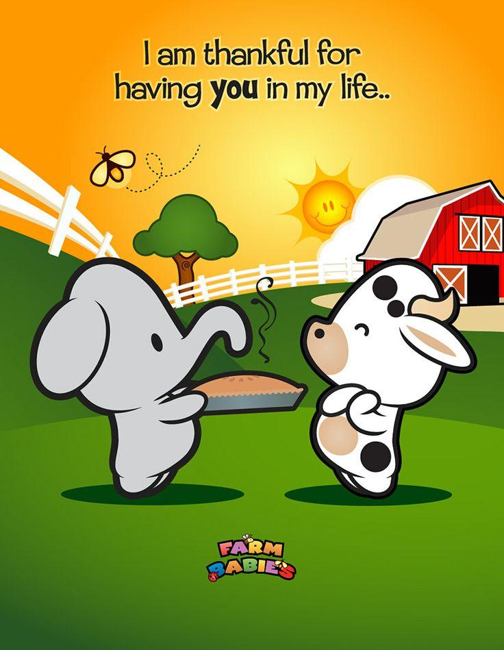 Farm Babies / #kawaii #cute #love #quotes #illustration #baby #farm #uplifting #cartoon #hug #bear #Thanksgiving #holiday #animals