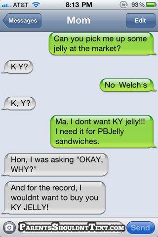 Texts. Bahaha!