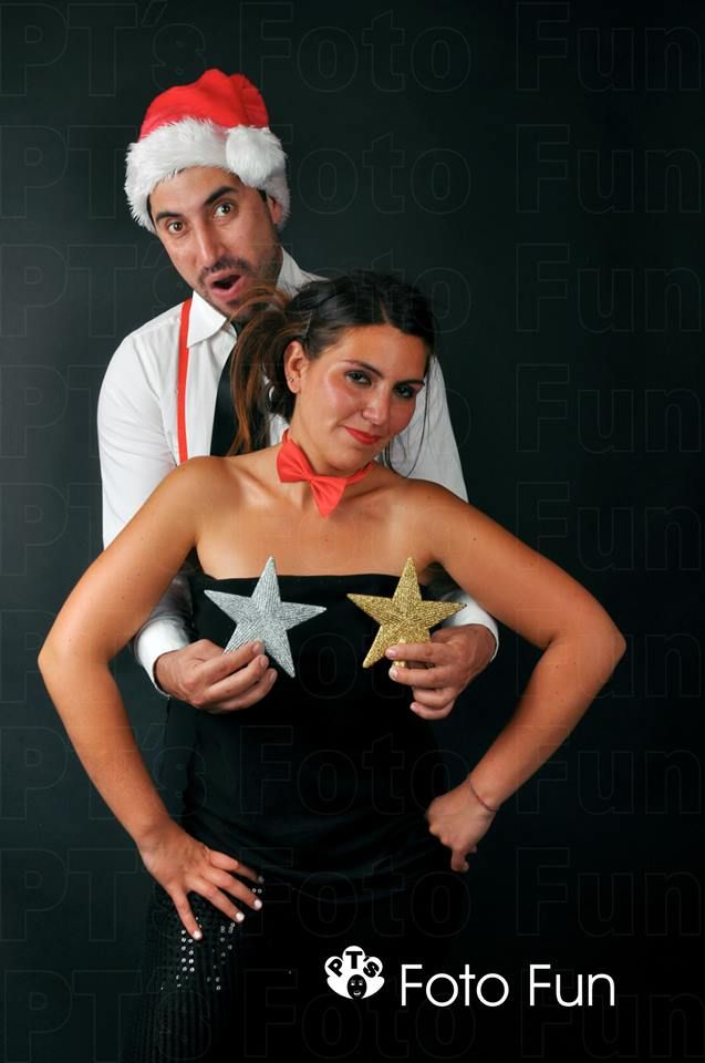 Funny couple´s Christmas photos