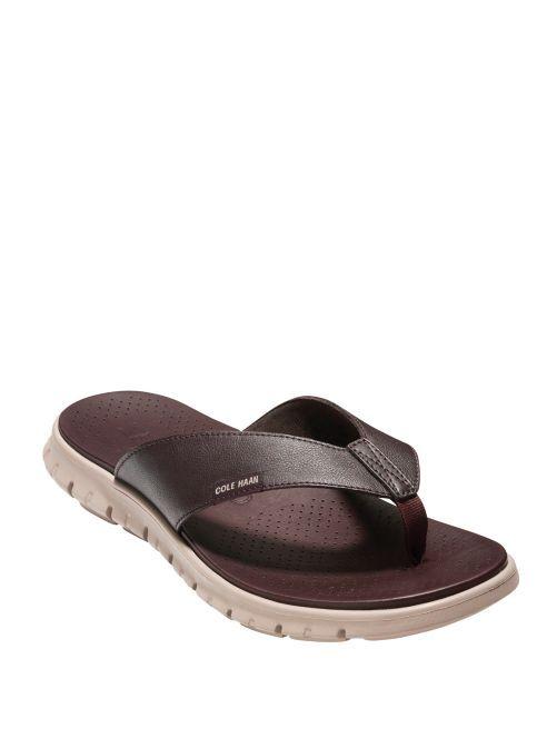 NEW Cole Haan Men's Zerogrand Sandals Slides Thongs C23981 size 8 M Java Cobble #ColeHaan visit our ebay store at  http://stores.ebay.com/esquirestore