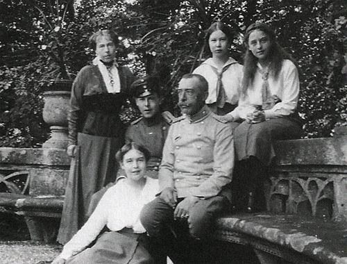 The family of Alexandra of Edinburgh, third daughter of Maria Alexandrovna.